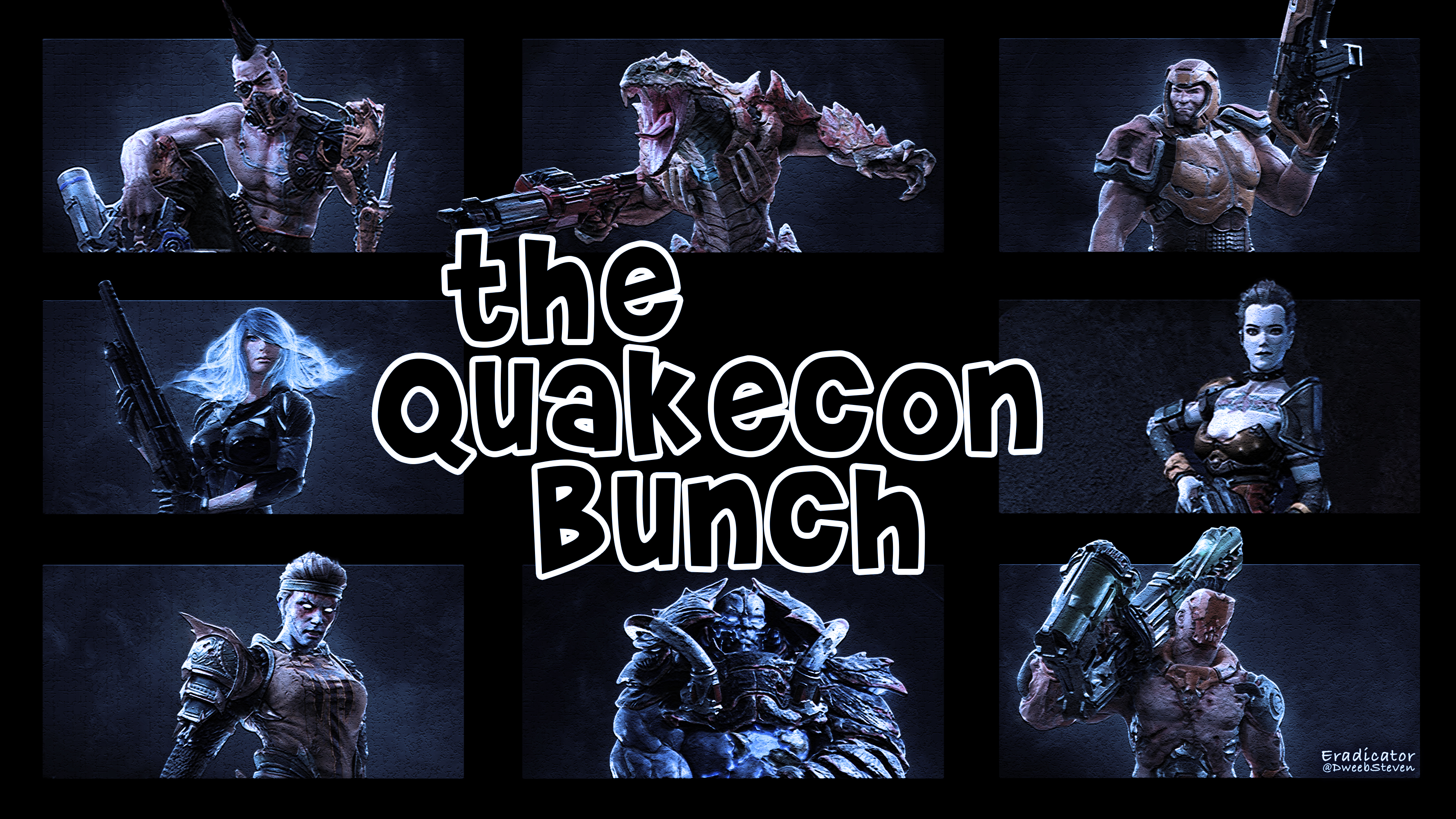Quakecon Bunch