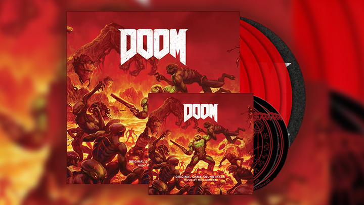 DOOM Special Limited Edition Vinyl Boxset and Double CD
