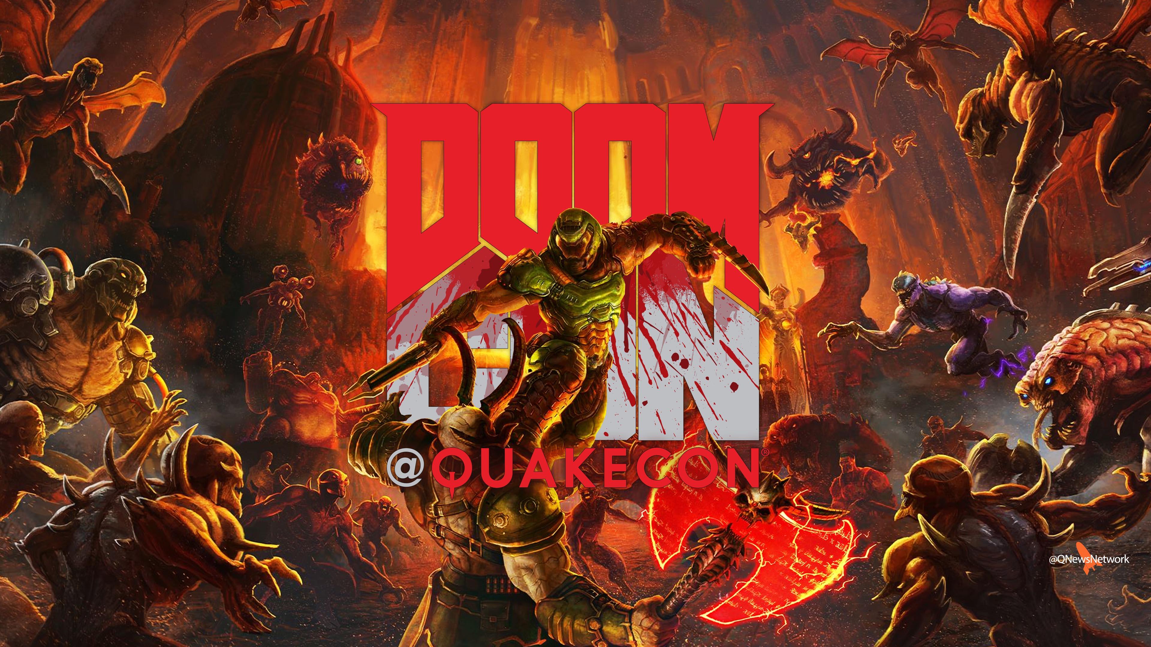 Doomcon wallpaper - Doomslayer