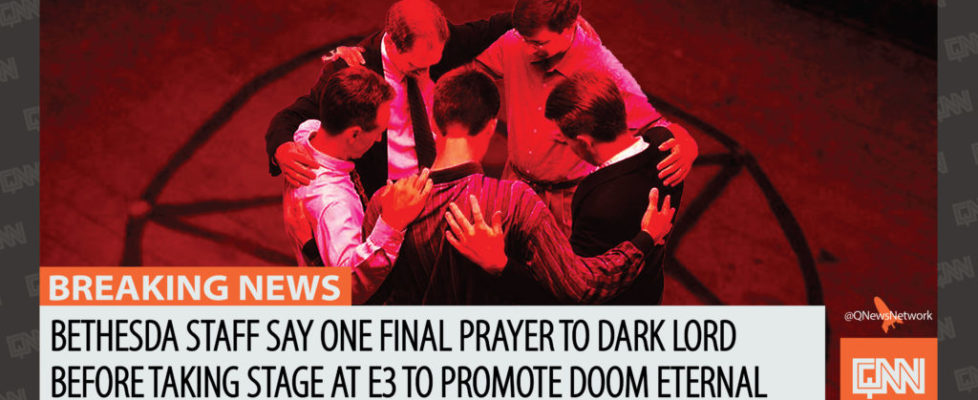 Prayer to Satan at E3-01