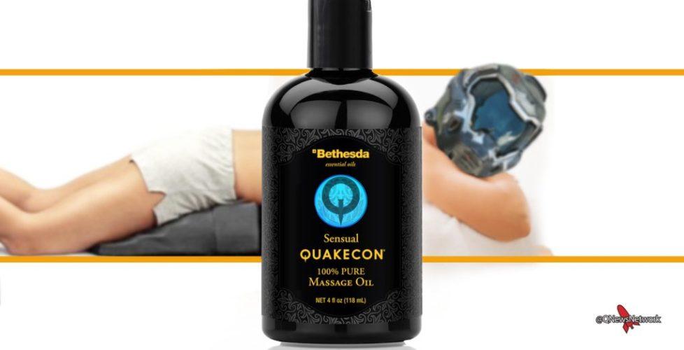 Quakecon Massage Oil