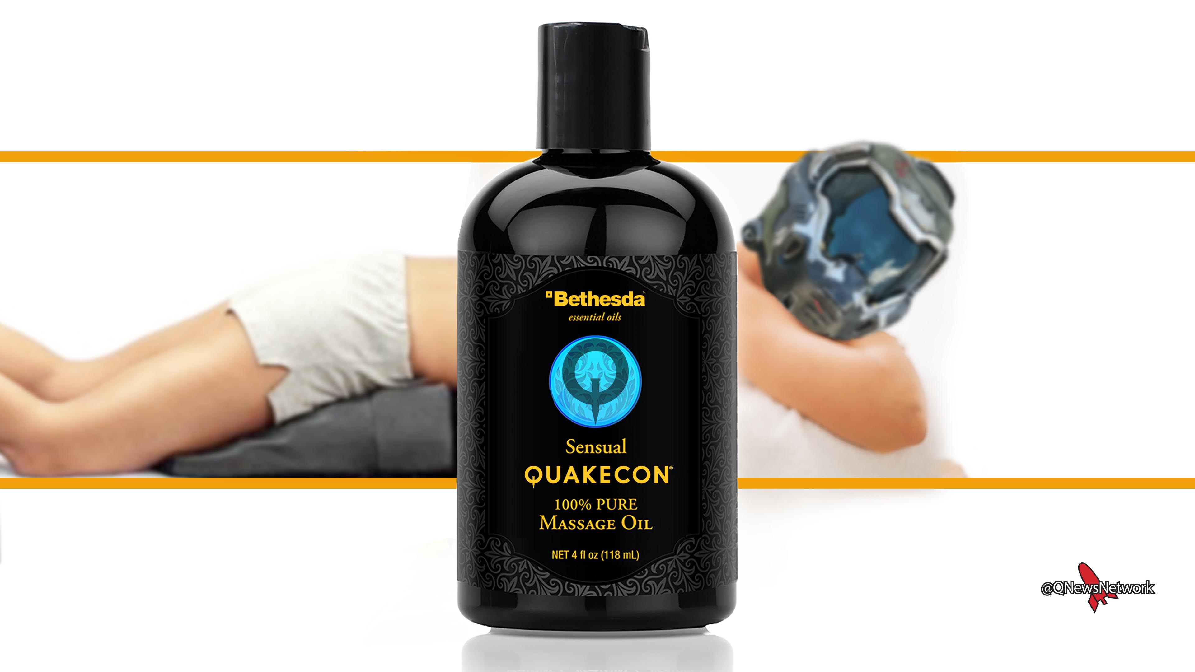 Quakecon Massage Oil